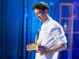 """David Garcia, guanyador de la segona edició del programa """"Top Chef"""""""