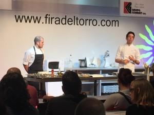 David Garcia participa a la Fira del Torró i la Xocolata a la Pedra d'Agramunt