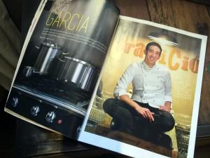 David Garcia i el Grup Tomàs, a la revista Cuina