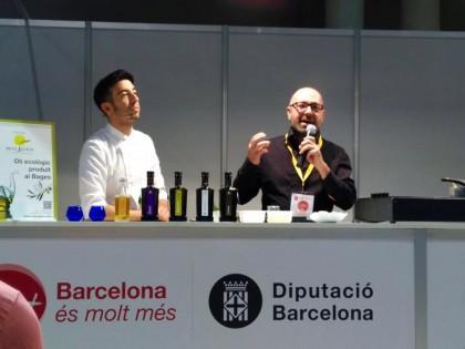 Oli Migjorn i David García, al Fòrum Gastronòmic Barcelona 2016